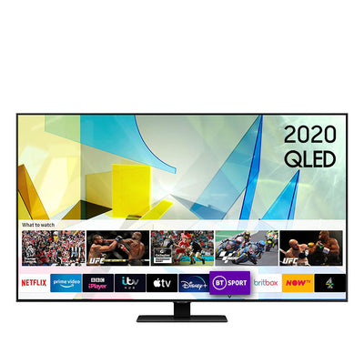Samsung QE49Q80T 49 inch Direct Full Array 4K QLED TV - 2020 Model