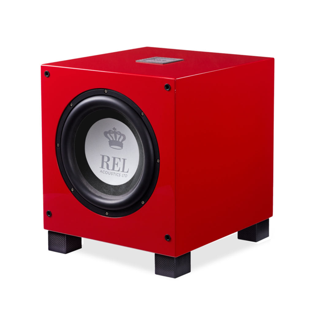 REL T9i Red Limited Edition Subwoofer