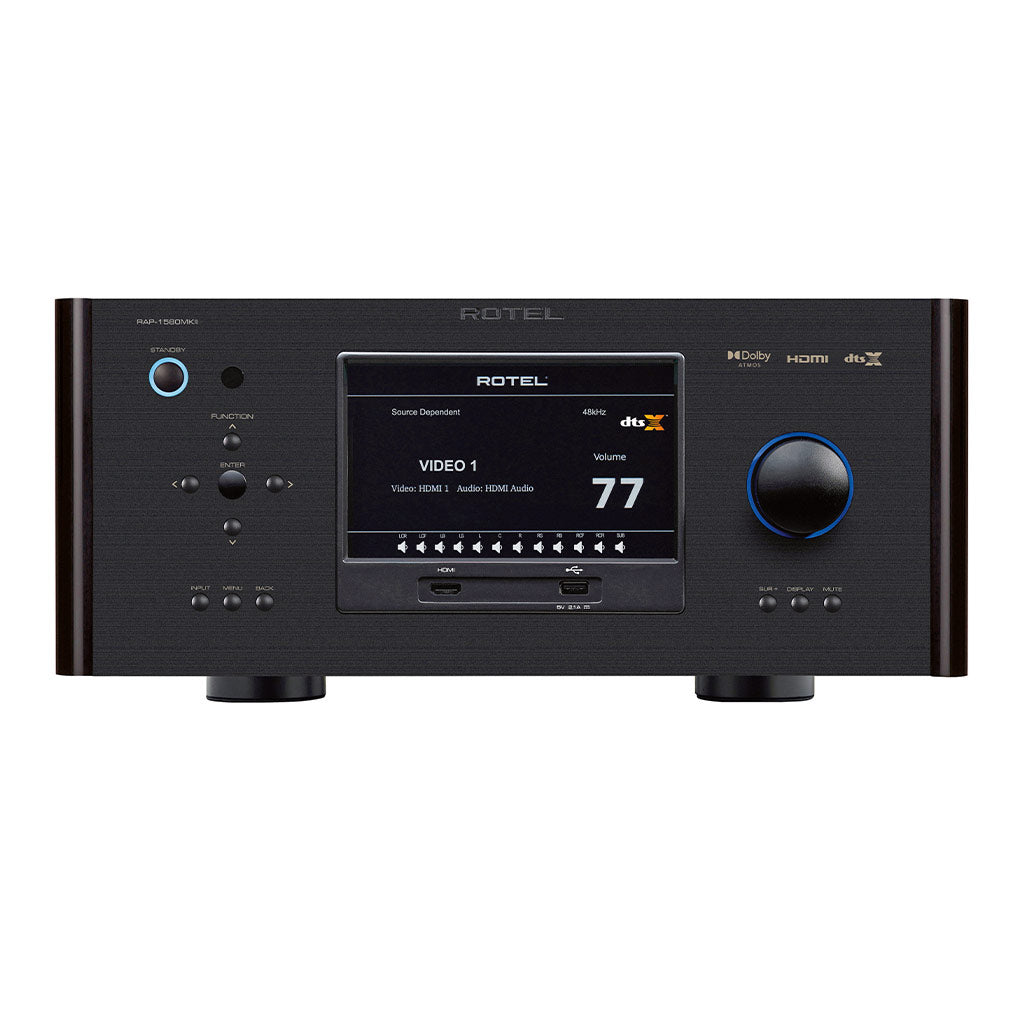 Rotel RAP-1580 MKII Surround Amplified Processor