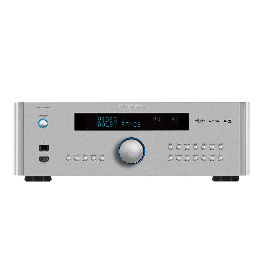 Rotel RSP-1576 MKII Dolby Atmos Surround Sound Processor