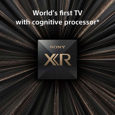 "Sony XR77A80JU 77"" (2021) 4K OLED HDR TV"