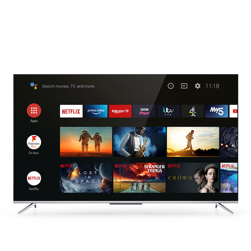 "TCL 43P715K 43"" 4K UHD LED TV"