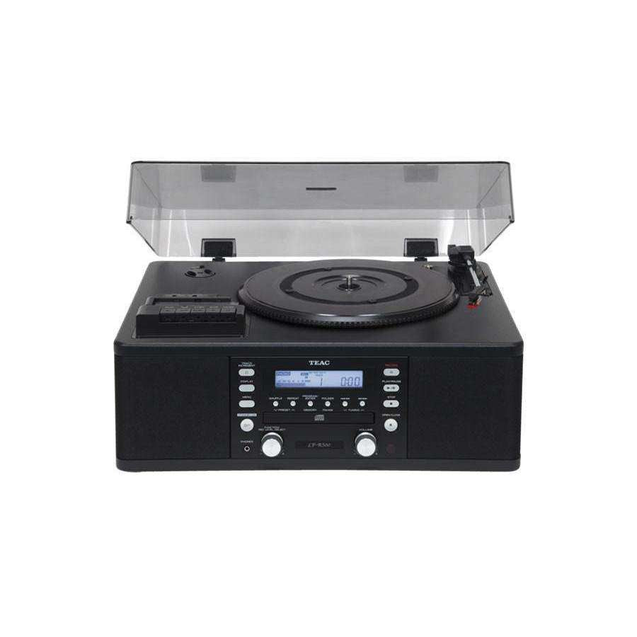 Teac LP-R500 Phono/Cassette/CD Recorder/Radio - Black - Call SpatialOnline 0345 557 7334