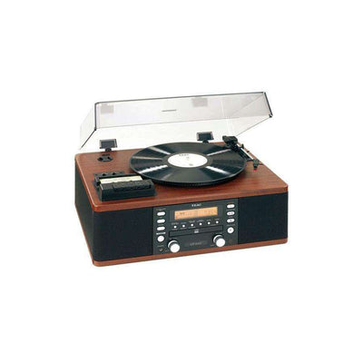 Teac LP-R500 Phono/Cassette/CD Recorder/Radio - Walnut - Call SpatialOnline 0345 557 7334