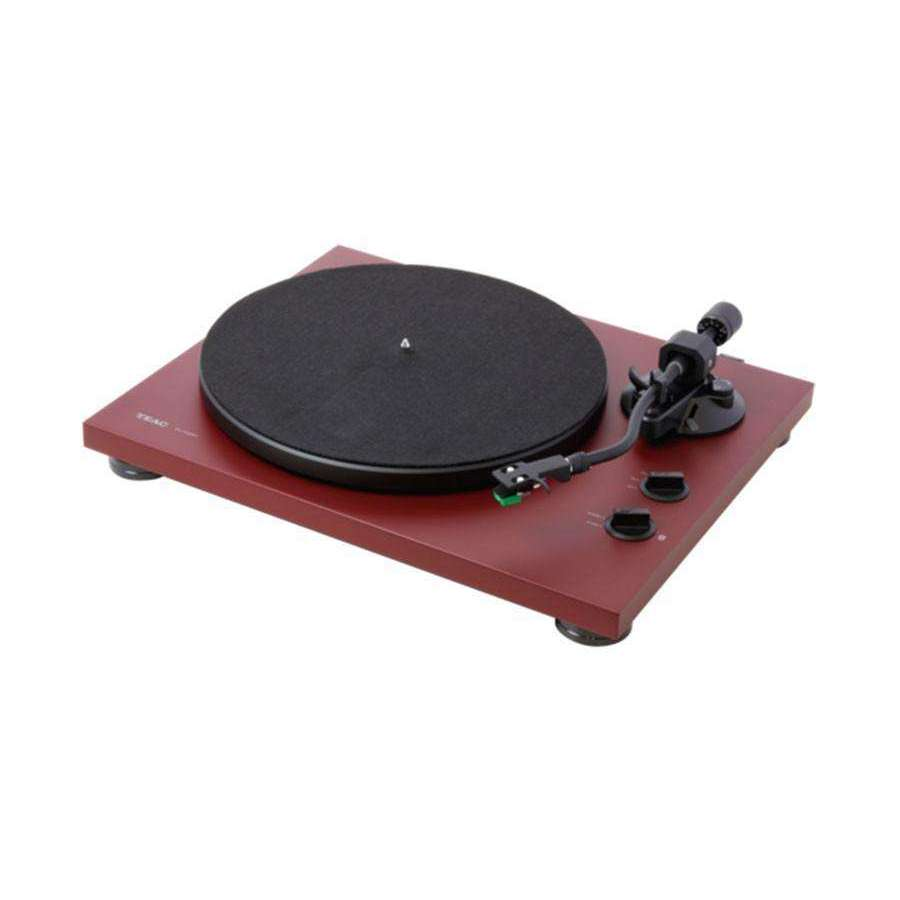 Teac TN-400BT Bluetooth /  USB Turntable - Matt Red - Call SpatialOnline 0345 557 7334