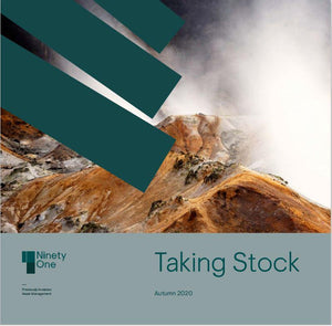 """Taking Stock"" - Ninety One - Autumn 2020 - Earn 1 CPD hour"
