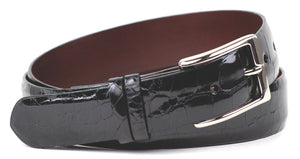 Eljo's Glazed Alligator Black Belt