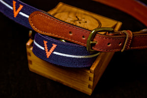 "Smathers & Branson UVA Old School ""V"" Belt"