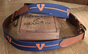 "Smathers & Branson UVA Traditional ""V"" Belt"