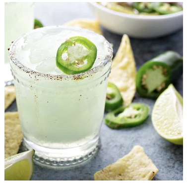 Skinny Spicy Margarita