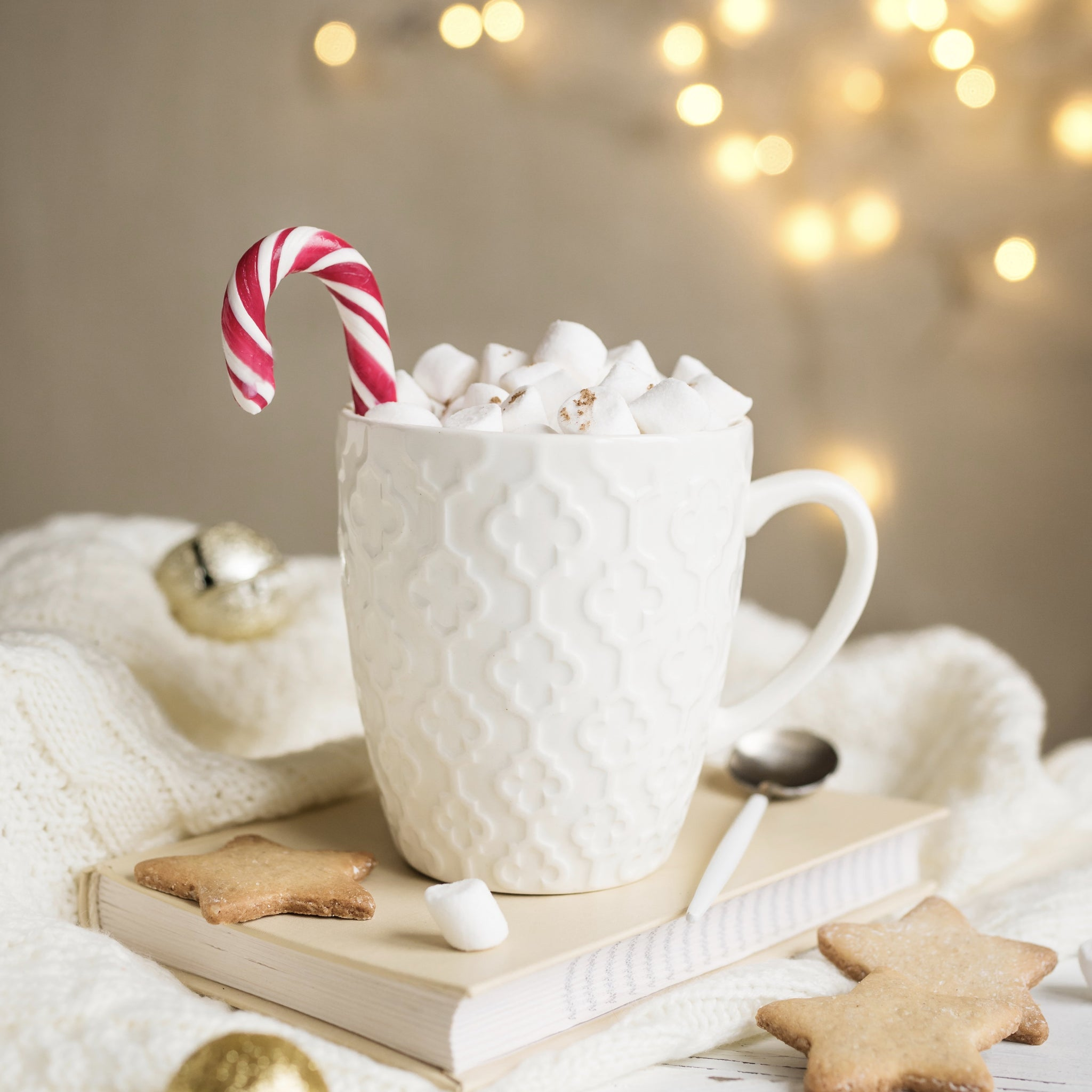 Peppermint Bark Hot Chocolate Coffee