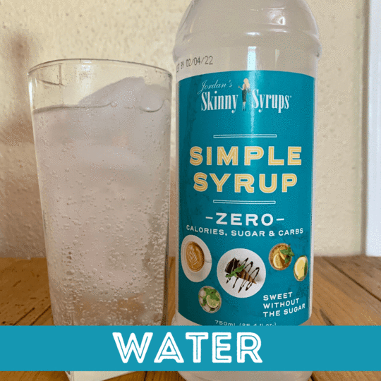 Sugar Free Simple Syrup