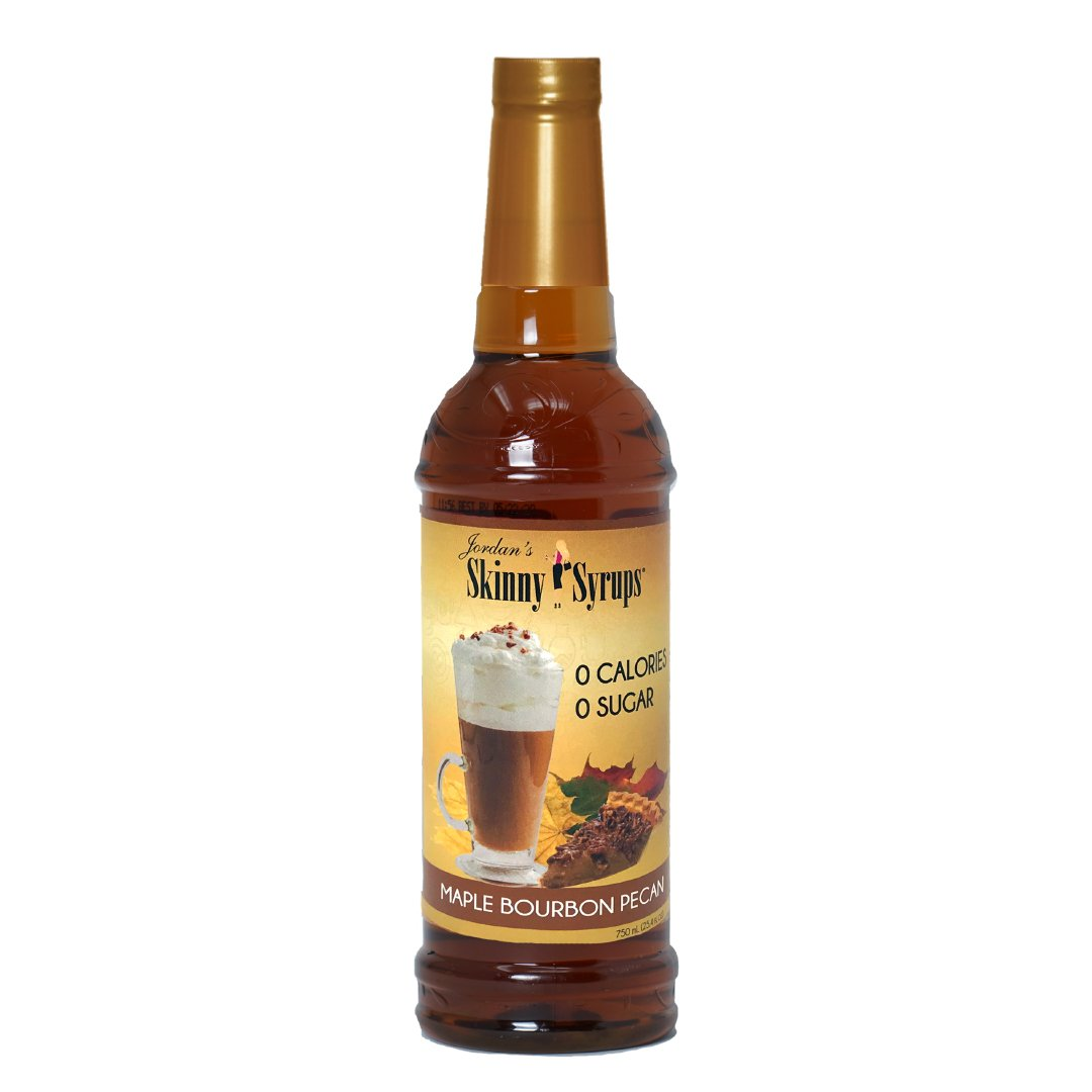 Sugar Free Maple Bourbon Pecan Syrup