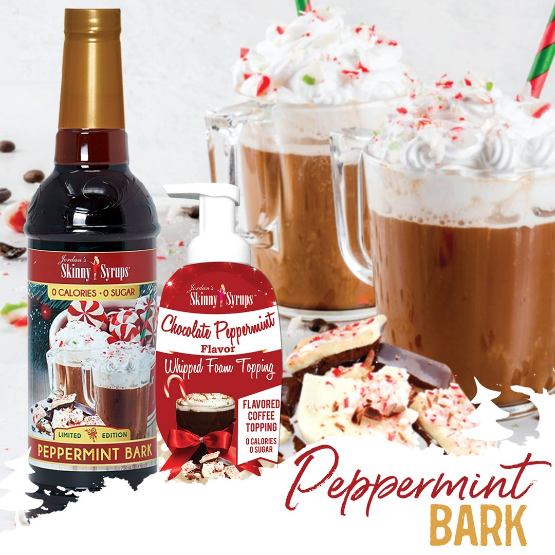 Sugar Free Peppermint Bark Syrup