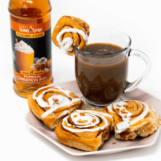 Sugar Free Pumpkin Cinnamon Roll Syrup
