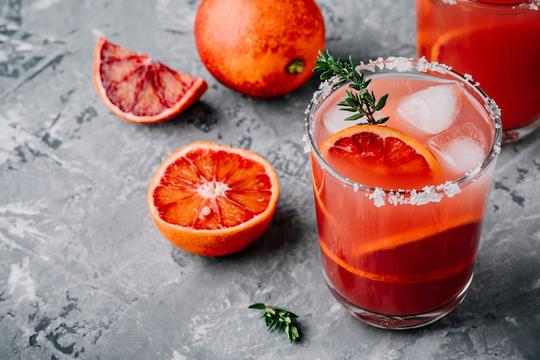 Skinny Blood Orange Margarita Mix
