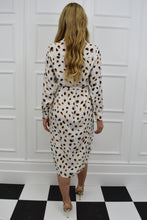 Load image into Gallery viewer, The Ava Animal Print Shirt Dress