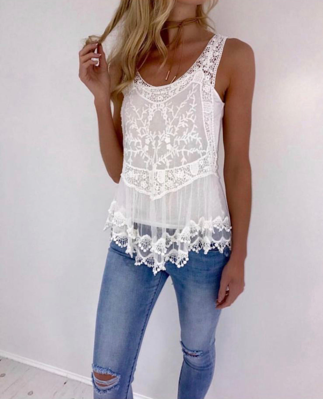 The Sienna Lace Top