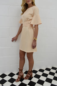 The Patsy Dress in Nude