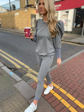 Load image into Gallery viewer, The Poppy Loungewear Set in Grey