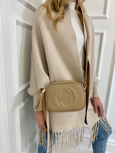 The Tassel Bag in Beige