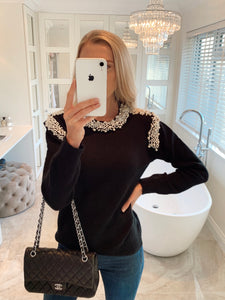 The Pearla Knit in Black