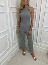 Load image into Gallery viewer, The Delilah Loungewear Set in Grey