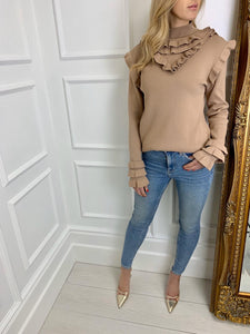 The Ava Knit in Camel