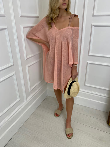 The Miami Cover Up in Peach