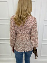 Load image into Gallery viewer, The Willow Blouse in Nude