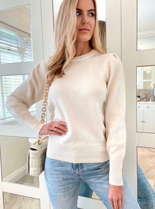 The Rosie Knit in Cream
