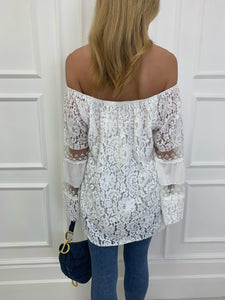 The Bora Bora Lace Top
