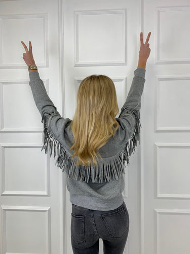 The Tia Tassel Sweatshirt