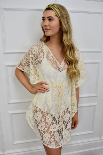The Ibiza Lace Cover Up