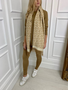 The LA Knitted Set in Camel