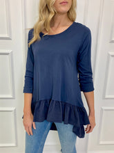 Load image into Gallery viewer, The Tazmin Tee in Navy