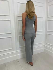 The Delilah Loungewear Set in Grey