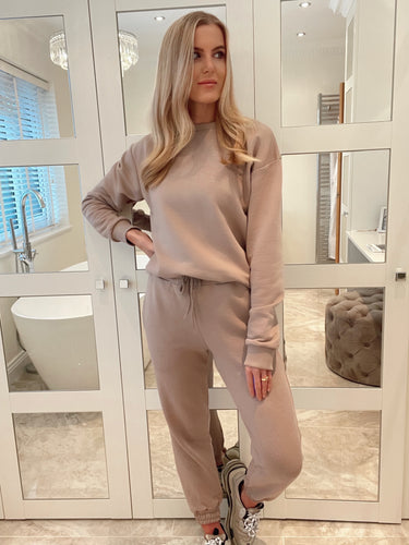 The Ellie Tracksuit in Mocha