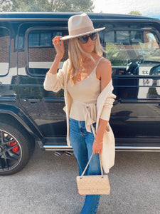 The Charlotte Cardi in Cream