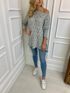 The Becky Knit in Grey