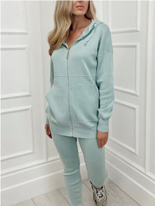 The Madison Loungewear In Mint