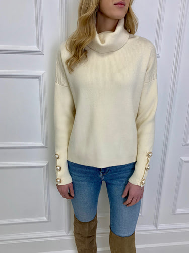 The Louisa Chunky Knit in Cream