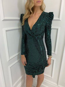 The Sienna Sequin Dress