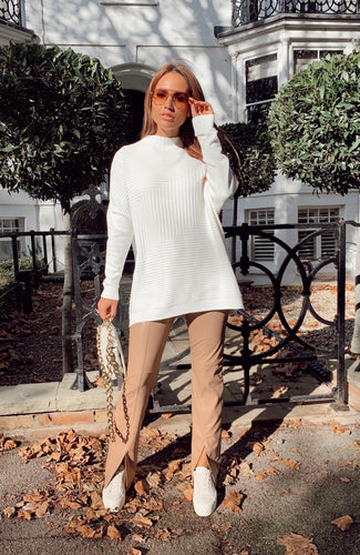 The Megan Knit in Ivory