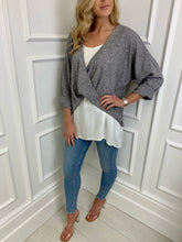 Load image into Gallery viewer, The Kylie Two in One Top in Grey