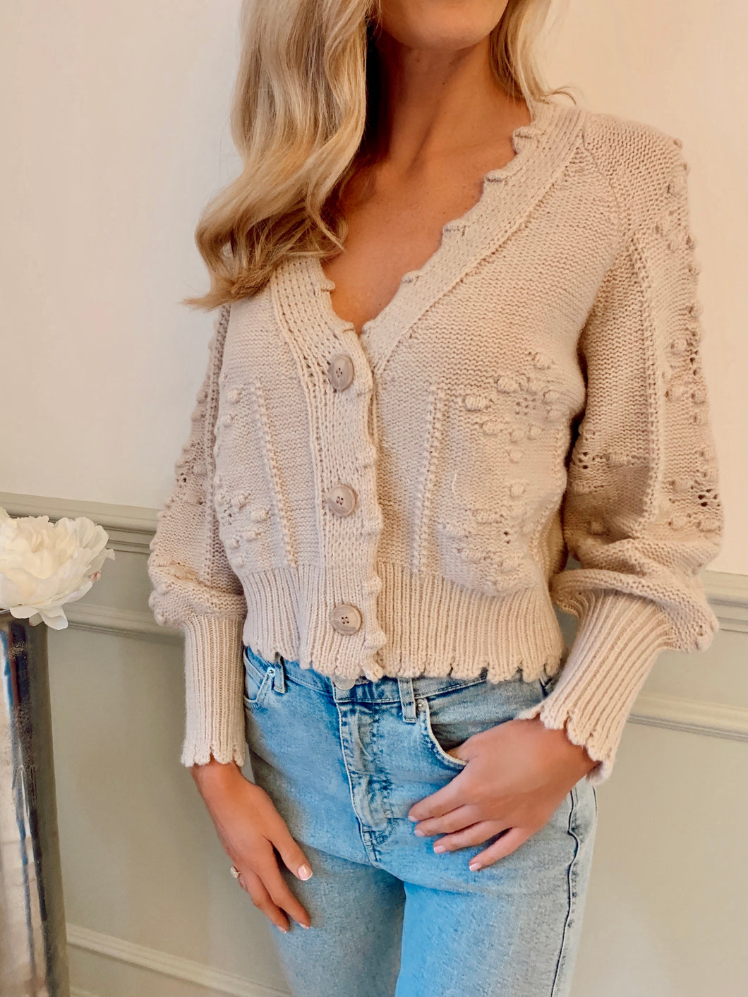 The Sasha Cardi in Nude