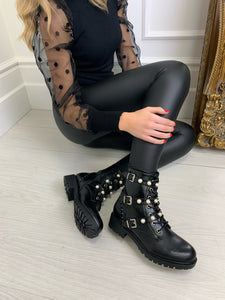 The Coco Biker Boots