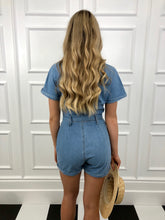 Load image into Gallery viewer, The Patti Denim Playsuit