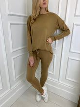 Load image into Gallery viewer, The LA Knitted Set in Camel