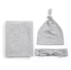 The Beau Baby Bundle in Grey